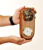 Dog Head Clocks