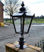 Entrance and Pillar Lighting