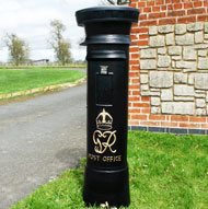 Free Standing Pillar And Post Boxes