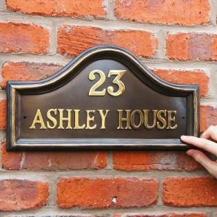 House Name Signs