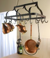 Kitchen Pot and Pan Racks