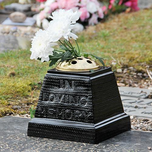 Memorial Grave Flower Vases
