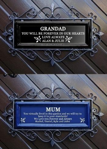 Memorial Signs