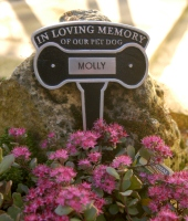 Pet Memorials, Grave Stakes and Grave Markers