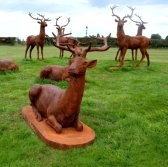 Stags & Deer Sculptures