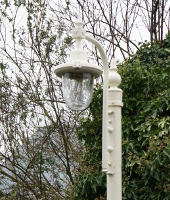 St Marlo Double period lampposts set