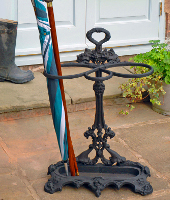 Umbrella and walking stick stands