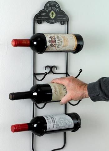 Wall Mounted Wine Racks & Holders