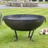 110cm Kadai Bowl in garden setting