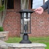 1920's Inspired Entrance Pillar Light to Scale