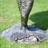 4 Tier Mermaid Garden Fountain Base