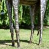 Legs on the Giraffe Sculpture