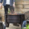 Gothic Style Fire Pit Finished in Bronze