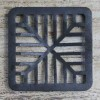 Cast Iron Square Drain or Vent Cover