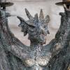 Close up of dragon detailing