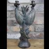 Back of Ornate Dragon Candle Holder