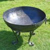 Top view of Kadai Bowl with dropped handles