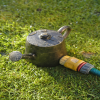 Bronze watering can sprinkler