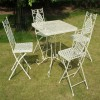 """Aunt Hilda"" Large Rectangular Garden Set Finished in Cream"