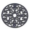Blue Cast Iron Oval Trivet