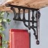 'Edessa' Shelf Bracket in Situ Holding a Wooden Shelf