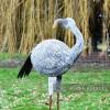 """Jabberwocky"" Flamingo  Facing Backwards"