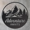 Adventure Awaits with Stone Wall