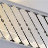 Alessi Single Bold Twist Stainless Steel Stair Spindle