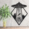"""""""Get in Loser"""" Alien Wall Art in Situ"""