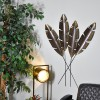 Feathers Wall Art in an Antique Bronze Finish