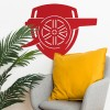 """""""Arsenal Cannon"""" Wall Art in the siting Room"""