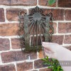 """""""Astral"""" Wall Mounted Sundial to Scale"""