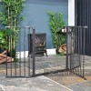 Baby Dan Black Hearth Fireguard with Front Opening Gate