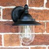 Bakewell Classic Black Wall Lantern