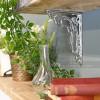 Household hardware chrome shelf bracket