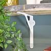 Modern shelf bracket