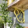 Living room shelf bracket
