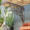 Cast iron Greek column shelf bracket