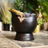 """Countess"" Coal Bucket Finished in Black"