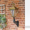 Traditional porch wall light