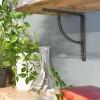 Simple designed living room iron shelf bracket