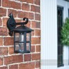 Wall Mounted Garden Lantern on wall