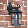External black garden wall Light