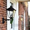 Beautiful wall lantern on bracket