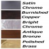 Other finishes available
