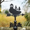 Jack & Jill went up the hill - weathervane