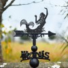 Beautiful Mermaid Weathervane in garden