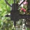 Black Cast Aluminium Wall Bracket