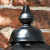 Black victorian Lantern Finial
