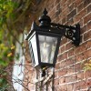 Black Victorian Top Fix Wall Light